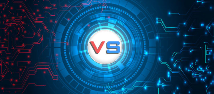 The difference between the blue team and the red team is in cybersecurity